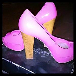 Marley Pink Lipstick  High Heels